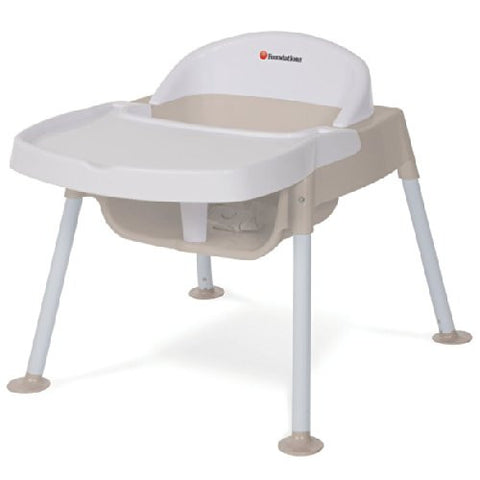 Foundations Secure Sitter Feeding Chair White/Tan - 4607247 -  Foundations High Chairs & Boosters - Nurzery.com