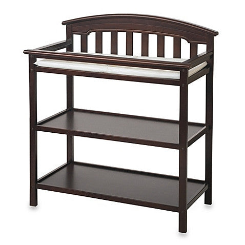 Child Craft Stanford Changing Table in Cherry F01316.85 -  Child Craft Changing Table - Nurzery.com - 1