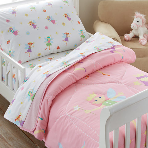 Olive Kids Fairy Princess Toddler Comforter - 35417 -  Olive Kids Bedding - Nurzery.com
