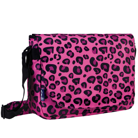 Pink Leopard Laptop Messenger Bag - 38214 -  Olive Kids Messenger Bags - Nurzery.com