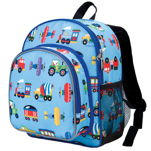 Olive Kids Trains, Planes & Trucks Pack 'n Snack Backpack - 40078 -  Olive Kids Backpacks - Nurzery.com