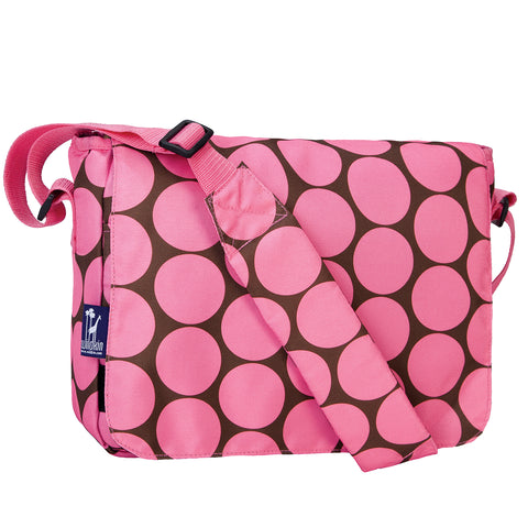 Big Dot Pink Kickstart Messenger Bag - 41085 -  Olive Kids Messenger Bags - Nurzery.com