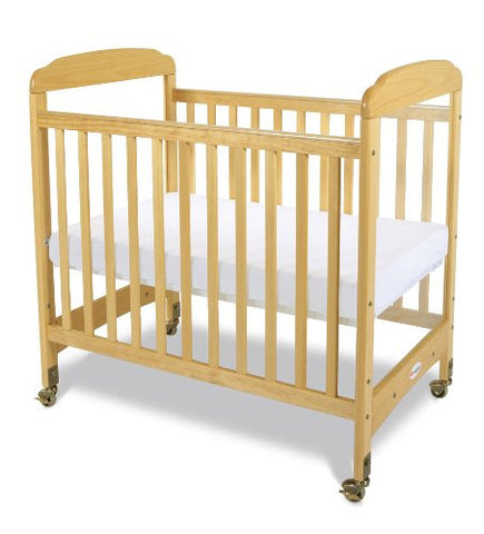Foundations Serenity Compact Sized Clearview Crib Natural - 1732040 -  Foundations All Cribs - Nurzery.com