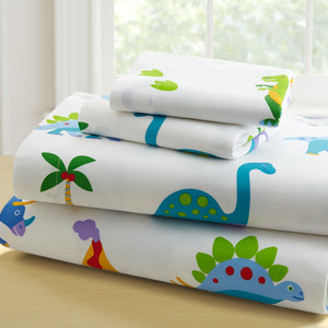 Olive Kids Dinosaur Land Twin Sheet Set - 43412 -  Olive Kids Bedding - Nurzery.com