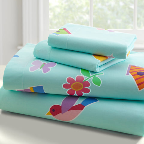 Olive Kids Birdie Twin Sheet Set - 43413 -  Olive Kids Bedding - Nurzery.com