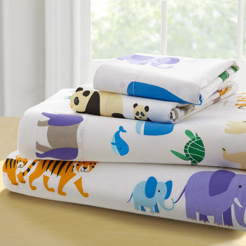 Olive Kids Endangered Animals Twin Sheet Set - 43416 -  Olive Kids Bedding - Nurzery.com