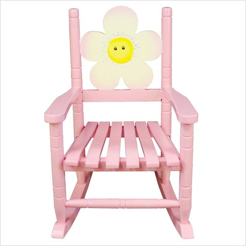 Teamson Kids- Safari Rocking Chair - Flower-W-8338A -  Teamson Kids Rocking Chair - Nurzery.com - 1