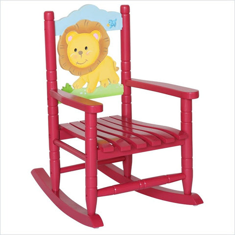 Teamson Kids- Safari Rocking Chair -Lion-W-8342A -  Teamson Kids Rocking Chair - Nurzery.com - 1