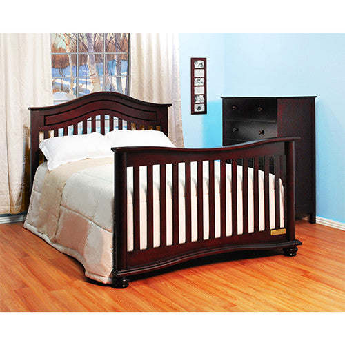 5 Cool Cribs That Convert To Full Beds: AFG Jordana Lia 3-in-1 Baby Crib W/ Free Mattress