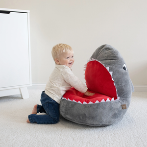 Trend Lab® - Children's Plush Shark Character Chair