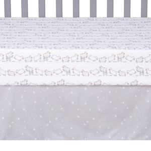 Sammy & Lou® - Sleepy Sheep - 4 Piece Crib Bedding Set
