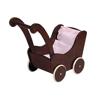 Guidecraft Doll Buggy Espresso - G98107 - Default Title Guidecraft Toys - Nurzery.com