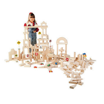 Guidecraft Classroom Unit Blocks 45 pcs - G93402 - Default Title Guidecraft Toys - Nurzery.com