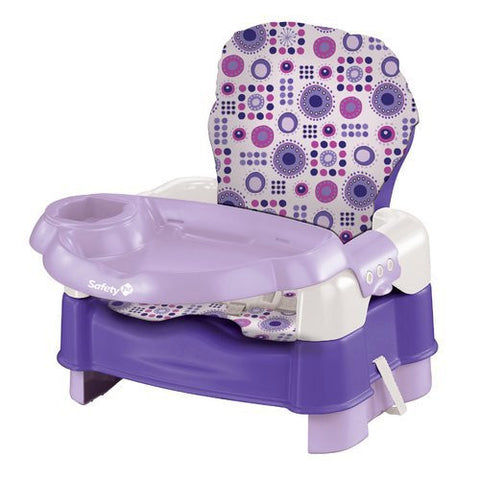 Safety 1st Deluxe Sit, Snack, & Go Convertible Booster (Lavender with Full Pad) BO060BLQ -  Safety 1st High Chairs & Boosters - Nurzery.com