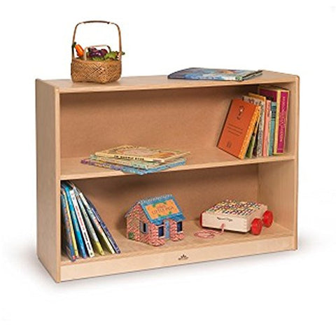 Whitney Brothers Space Saver Bookcase WB1409 -  Whitney Bros Book Case - Nurzery.com