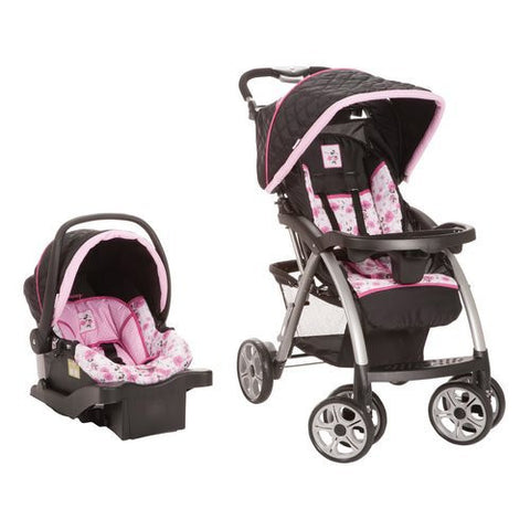 Disney Saunter Luxe Travel System (Floral Minnie) Safety 1st TR266BVE -  Disney Strollers - Nurzery.com