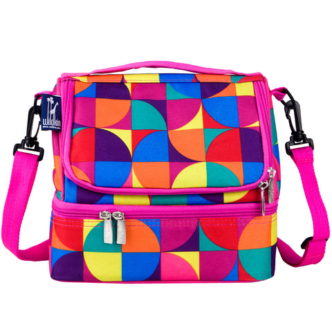 Pinwheel Double Decker Lunch Bag - 52404 -  Olive Kids Lunch Bags - Nurzery.com