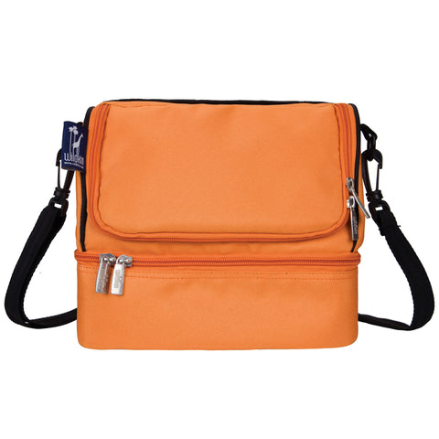 Bengal Orange Double Decker Lunch Bag - 52502 -  Olive Kids Lunch Bags - Nurzery.com