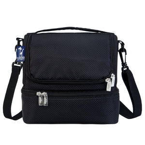 Rip-Stop Black Double Decker Lunch Bag - 52523 -  Olive Kids Lunch Bags - Nurzery.com
