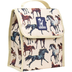 Horse Dreams Munch 'n Lunch Bag - 55025 -  Olive Kids Lunch Bags - Nurzery.com