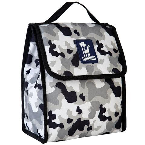 Gray Camo Munch 'n Lunch Bag - 55275 -  Olive Kids Lunch Bags - Nurzery.com
