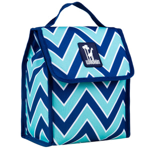Zigzag Lucite Munch 'n Lunch - 55551 -  Olive Kids Lunch Bags - Nurzery.com
