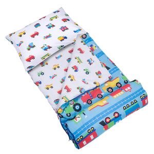 56079_Trains_Planes_Trucks_Microfiber_Sleeping_Bag_Pillowcase_1