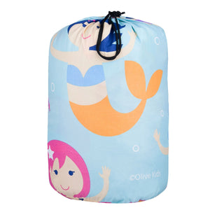 Olive Kids - Mermaids Microfiber Sleeping Bag w/Pillowcase - 56694