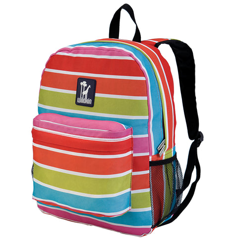 Bright Stripes Crackerjack Backpack - 57314 -  Olive Kids Backpacks - Nurzery.com