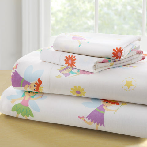 Olive Kids Fairy Princess Full Sheet Set - 58417 -  Olive Kids Bedding - Nurzery.com