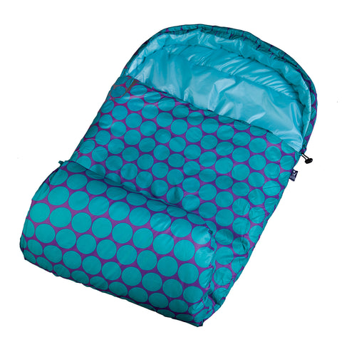 Big Dot Aqua Stay Warm Sleeping Bag - 59119 -  Olive Kids Sleeping Bags - Nurzery.com