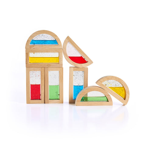Guidecraft Rainbow Block Shimmering Water - G3013 - Default Title Guidecraft Toys - Nurzery.com