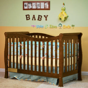 AFG Nadia 3 in 1 Convertible Crib - 6005 -  AFG Furniture International All Cribs - Nurzery.com - 1