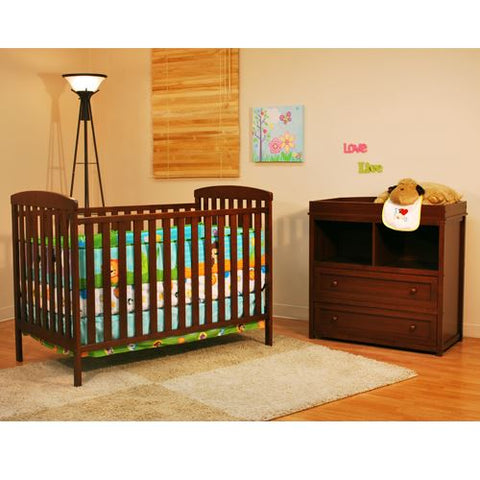 AFG Leila Crib and Changer Set - 608