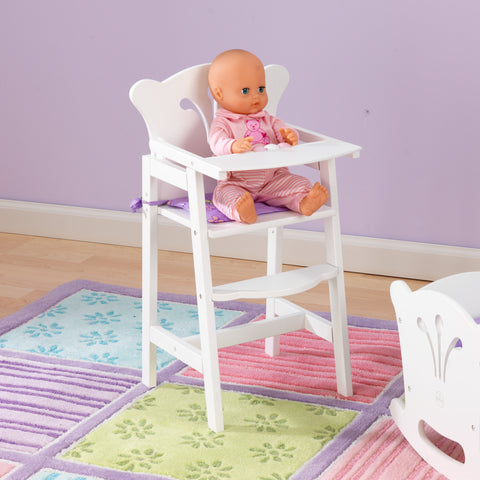 KidKraft Lil' Doll High Chair (accommodates American Girl® dolls) - 61101 -  Kid Kraft Pretend Play - Nurzery.com