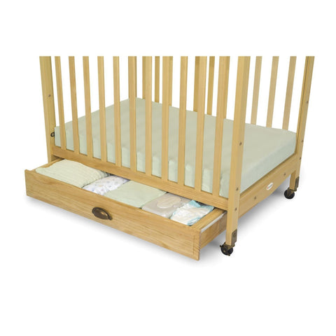 Foundations EZ Store Crib Drawer with Magnasafe Latch Natural - 4034042 -  Foundations All Cribs - Nurzery.com