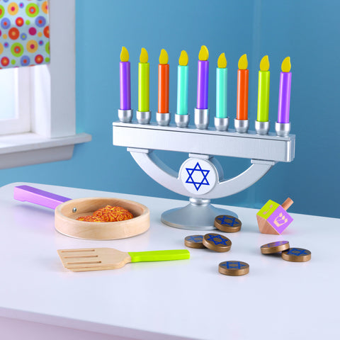 KidKraft Chanukah Set - 62905 -  Kid Kraft Pretend Play - Nurzery.com - 1