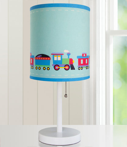 Olive Kids Trains, Planes, Trucks Cylinder Lamp - 631410 -  Olive Kids Lighting - Nurzery.com