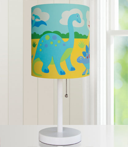 Olive Kids Dinosaur Land Cylinder Lamp - 631412 -  Olive Kids Lighting - Nurzery.com