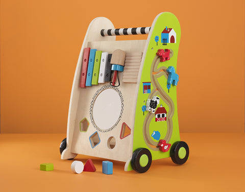 KidKraft Push Along Play Cart - 63246 -  Kid Kraft Pretend Play - Nurzery.com