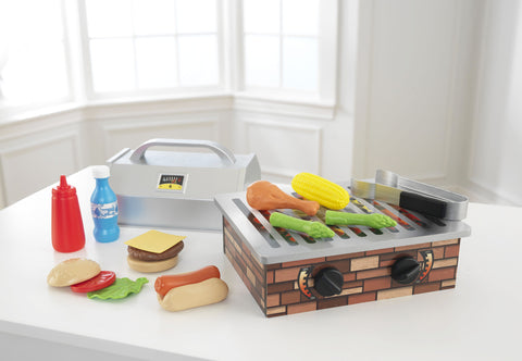 KidKraft BBQ Set - 63336 -  Kid Kraft Pretend Play - Nurzery.com
