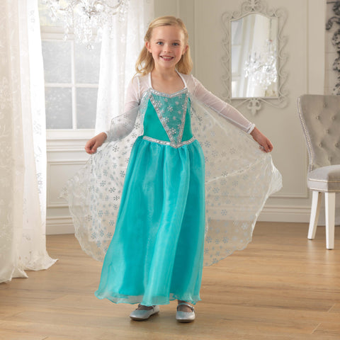 KidKraft Dress-Up Costume Dress Ice Princess -  Kid Kraft Pretend Play - Nurzery.com
