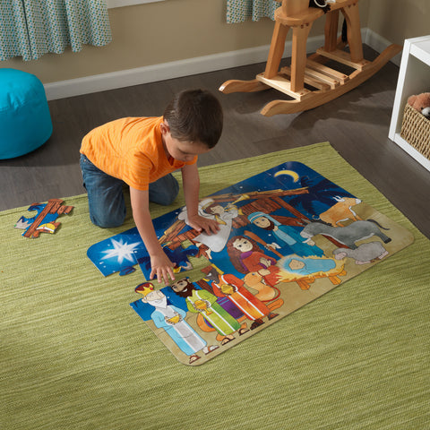 KidKraft Floor Puzzle – Nativity Scene - 63430 -  Kid Kraft Pretend Play - Nurzery.com