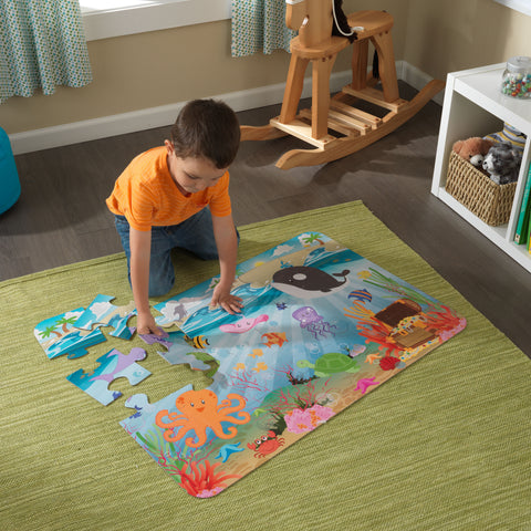 KidKraft Floor Puzzle – Underwater Friends - 63431 -  Kid Kraft Pretend Play - Nurzery.com