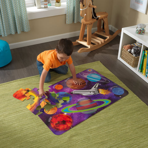 KidKraft Floor Puzzle – Outer Space - 63432 -  Kid Kraft Pretend Play - Nurzery.com