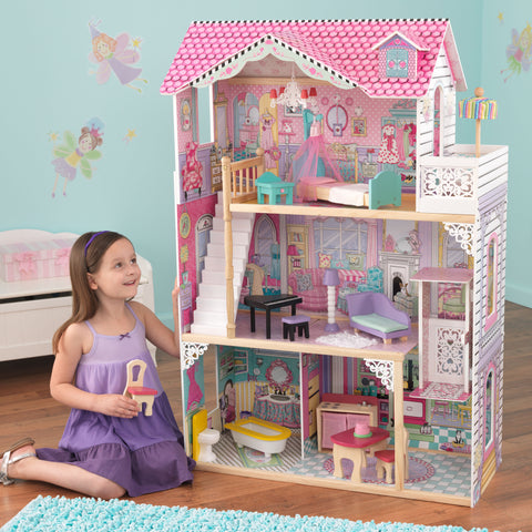 KidKraft Annabelle Dollhouse with Furniture - 65079 -  Kid Kraft Pretend Play - Nurzery.com