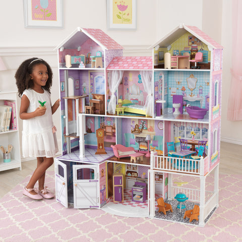 KidKraft Country Estate Dollhouse - 65242 -  Kid Kraft Pretend Play - Nurzery.com - 1