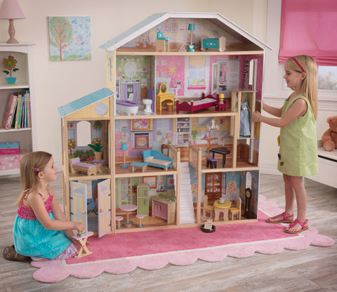 KidKraft Majestic Mansion with Furniture - 65252 -  Kid Kraft Pretend Play - Nurzery.com