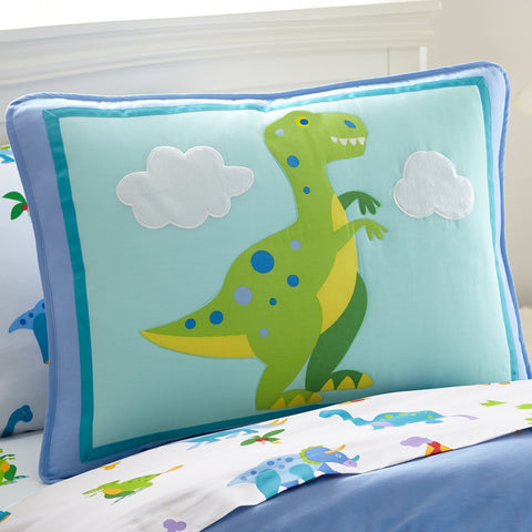 Olive Kids Dinosaur Land Pillow Sham - 65412 -  Olive Kids Bedding - Nurzery.com