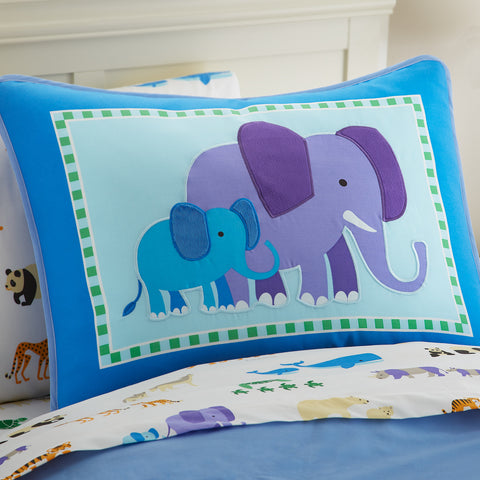 Olive Kids Endangered Animals Pillow Sham - 65416 -  Olive Kids Bedding - Nurzery.com